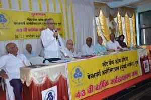 Shri.B.G.Dandekar addressing the gathering on the occasion